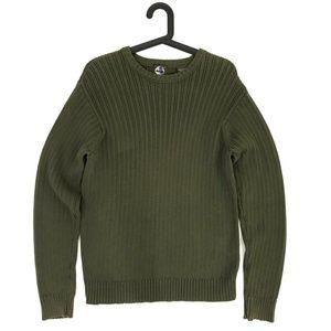 Timberland Green crewneck Sweater Size Small
